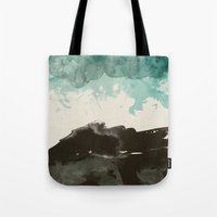 storm Tote Bags featuring storm by Golden Boy