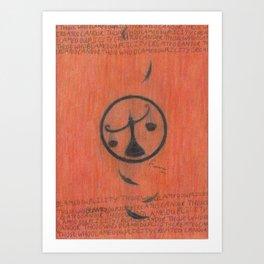 Candor. Art Print
