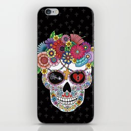 Lost Love BLACK iPhone Skin