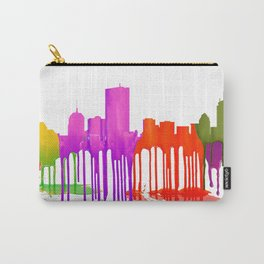 Boston Skyline - Puddles Carry-All Pouch