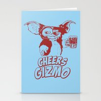 gizmo Stationery Cards featuring Cheers Gizmo by Roma
