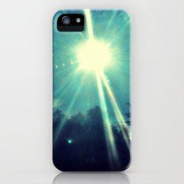 California sunshine. iPhone Case