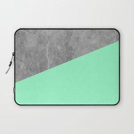 Geometry 101 Mint Meringue Laptop Sleeve