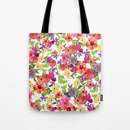 Zariya Flower Garden Tote Bag