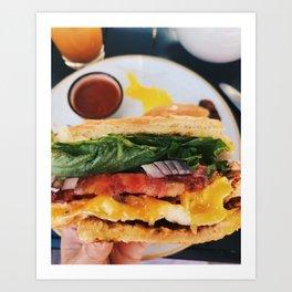 Breakfast Mode Art Print