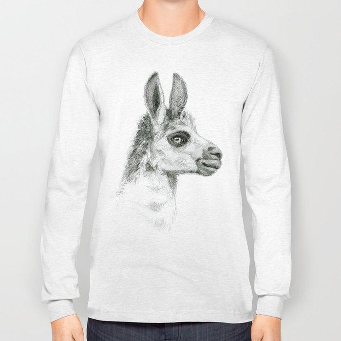 Llama SK052 Long Sleeve T-shirt
