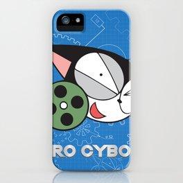 kuro cyborg cat iPhone Case