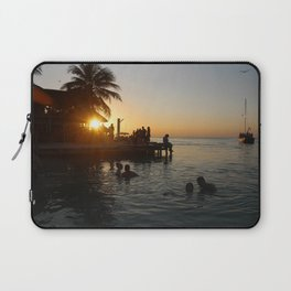 Caye Caulker Sunsets Laptop Sleeve