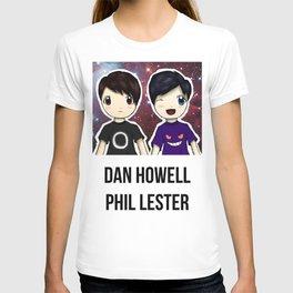 Dan and Phil chibi T-shirt