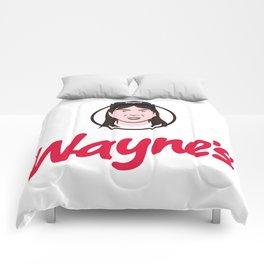 Wayne's Single #1 Comforters