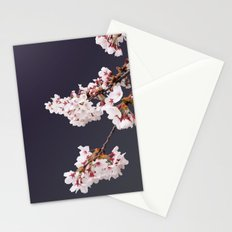 Cherry Blossoms (illustration) Stationery Cards