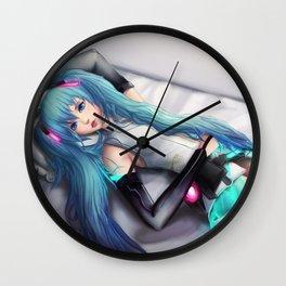 Hatsune Miku! Wall Clock