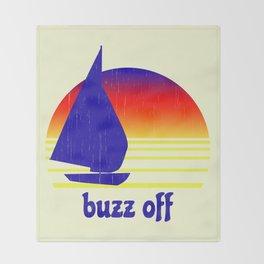 Buzz Off Throw Blanket