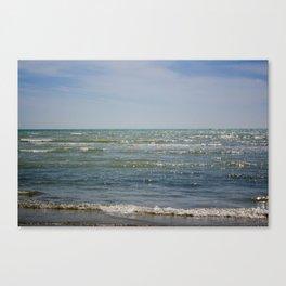Worthing Beach Canvas Print
