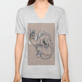 Ice Dragon Unisex V-Neck