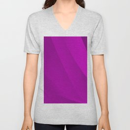 Purple on Purple Unisex V-Neck