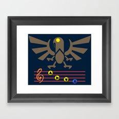 Bioshock Infinite: Song of the Songbird Framed Art Print