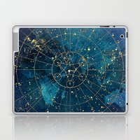 Star Map : City Lights Laptop & iPad Skin