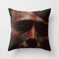 hannibal Throw Pillows featuring Hannibal by mycolour