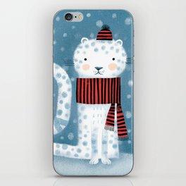 SNOW LEOPARD iPhone Skin