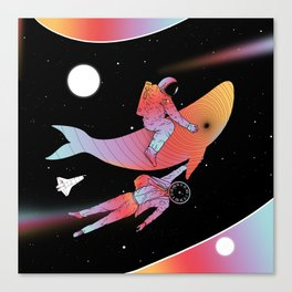 Coexistentiality 4 (A Journey Through Space and Time) Canvas Print
