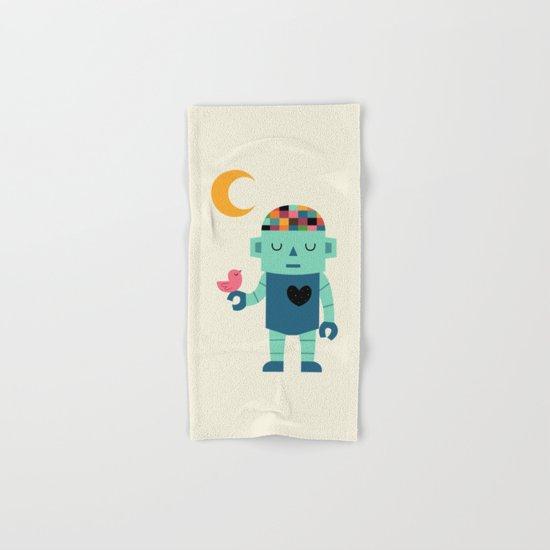 Robot Dreams Hand & Bath Towel
