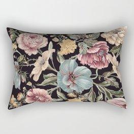 DARK FLORA Rectangular Pillow