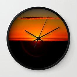 Sunrise at High Peak. Wall Clock