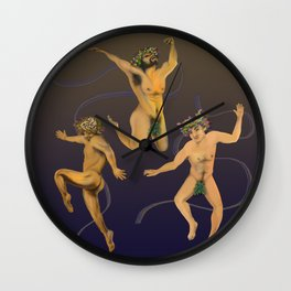 DANCE NAKED  Wall Clock