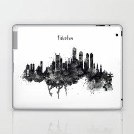 Boston Skyline Black and White Laptop & iPad Skin