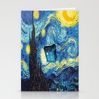 starry night Stationery Cards featuring STARRY by MiliarderBrown