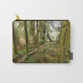 Pacific Coast Rainforest Boardwalk Carry-All Pouch