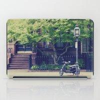 vespa iPad Cases featuring Vespa by thirteesiks