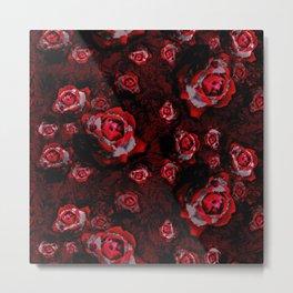 chrystal rose Metal Print