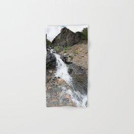 Waterfall below the Silver Cloud Mine, at 11,413 feet Hand & Bath Towel