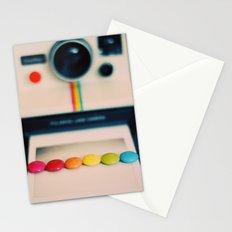 over the pola rainbow Stationery Cards