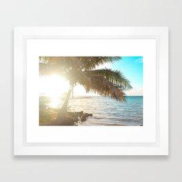 I S L A Framed Art Print