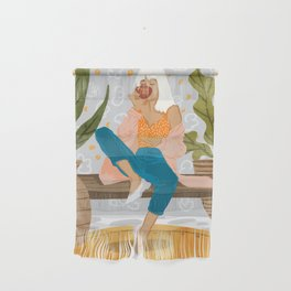 Boss Lady #illustration #painting Wall Hanging