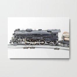 Vintage Model Train 7 Metal Print