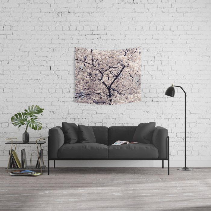 Cherry Blossom * Wall Tapestry