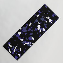Terrazzo Black Yoga Mat