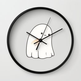 Poor ghost Wall Clock