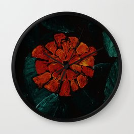 The Dangerous Flower Wall Clock