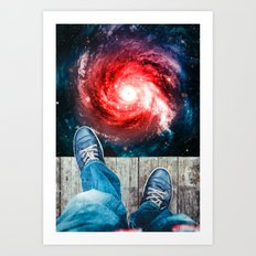 Edge Of The Universe Art Print