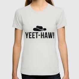 Yeet Dank Meme Gift Internet Cowboy Funny Country Apparel T-shirt