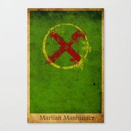Martian Logo Canvas Print