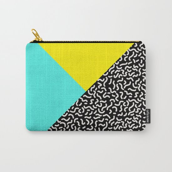 Memphis pattern 27 Carry-All Pouch