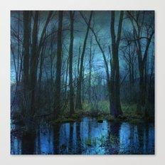 Woodland Twilight Canvas Print
