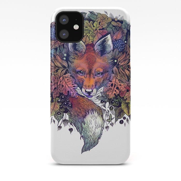 Hiding fox iphone 11 case