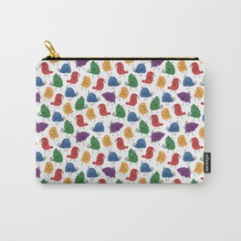 Doodle Birds Pattern Carry-All Pouch